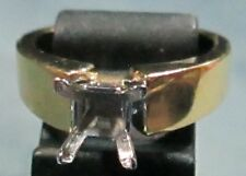 Quality 14K Solid Gold 5.8 Grams Ladies Mounting Ring Size 6 3/4 Without Stone