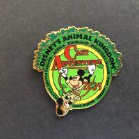 DISNEY WDW 2005 CAST EXCLUSIVE ANIMAL KINGDOM ADVENTURE MICKEY MOUSE PIN
