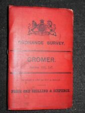 Periodo edoardiano Ordnance Survey Mappa pieghevole-Cromer - 1902-NORFOLK-FOGLIO 131,147