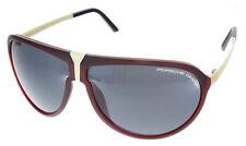 Porsche Design Sonnenbrille P8619-B-6409-140-V792-E89 Farbe rot gold NEU