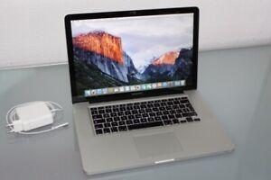 Apple MacBook Pro 15 Zoll Modell 5,4
