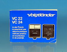 Voigtländer VC 22 VC 24 in der Praxis in practical use Anleitung manual - 100050