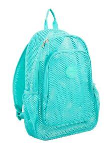Eastsport Mesh Turquoise Backpack