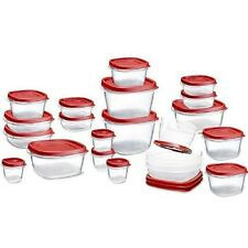 Rubbermaid Easy Find Lid Food,Storage,Containers,Stove,Essential, Bowl, Bake,Box