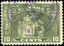 1934 Used Canada F+ Scott #209 10c Loyalists Issue Stamp