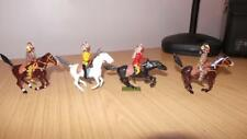 HB176: Britains Lead Indians on Horse Back x 4 - Repainted