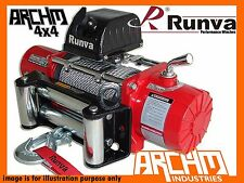 RUNVA 11XP RED 12V 11000LB 4990kg 4WD ELECTRIC STEEL CABLE RECOVERY WINCH