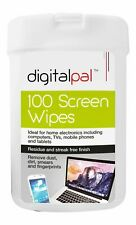 100 Screen Cleaning Wet Wipes Laptop LED LCD TV Computer iPad Monitor Cleaner