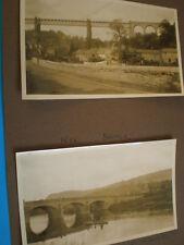 Old photograph view Wye bridge and salmon fishing c1930s my Ref 31AA3
