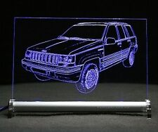 AutoGravur LED-Schild mit Jeep Grand Cherokee ZJ ZG