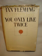 Vintage 1964 You Only Live Twice by Ian Fleming - Hardcover First Printing