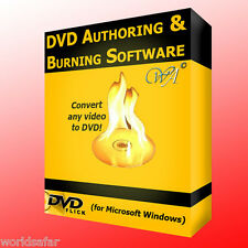 DVD AUTHORING & BURNING SOFTWARE, CONVERT ANY VIDEO FILE TO DVD