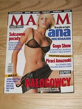 MAXIM magazine 9 2002 * Ana Hickmann on cover * TATU * Cash Casia * Morcheeba