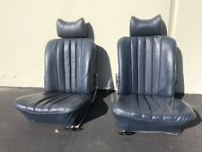 USED Pair Of Blue Seats For Mercedes W113 230SL 250SL 280SL