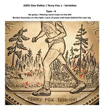 2005 - $1 - Terry Fox - Type-4 - No grass ( Please see the description ) - BU