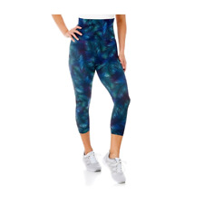 d7e3e0d15f5ba Proskins Slim Anti Cellulite High Waist Capri Neon Tropic Leggings UK 22  (AUS)