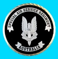 RARE AUSTRALIAN SASR COIN SPECIAL AIR SERVICE SPECIAL FORCES SAS * LIMITED * -00