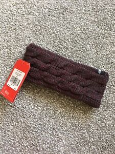 The North Face Fuzzy Cablr Knit Ear Band