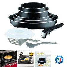 Batterie de Cuisine Tefal Poele Ingenio tous feux sauf induction - Set 10 pieces