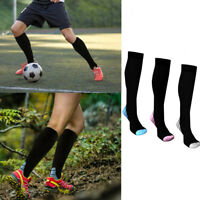 Compression 20-30mmHg Support Socks Relief Miracle Calf Men's Women's Sports New