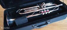 Schöne gebrauchteTrompete, B-Stimmung in gutem Zustand mit Etui und Stativ