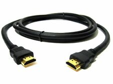 1.8M HDMI PREMIUM GOLD Cable Male to Male HDTV 3D 1080P Full HD Lead 1.8 Metre