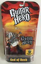 2007 Todd McFarlane Toys Guitar Hero God of Rock Toy Action Figure New Sealed