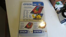 EPSON STYLUS COLOR INK CARTRIDGE S020191/2020089, Lot of 2
