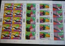 SINGAPORE Games of the XXXI Olympiad Rio 2016 Stamp Sheet Complete set of 4 MNH