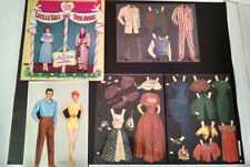 1953 I Love Lucy Authorized Paper Dolls Lucille Ball Desi Arnaz Whitman