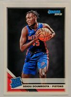 Sekou Doumbouya 2019-20 Panini Donruss Rated Rookie Base #214 RC HOT 🔥