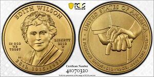 2013-W Edith Wilson $10 Gold 1/2 oz First Spouse Coin MS70 pop 323