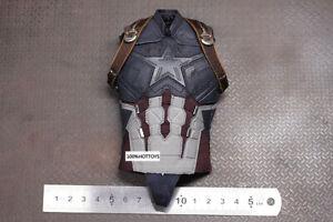 HOT TOYS HT MMS480 Captain America 1/6 Combat Uniform with Strap Vest Brand New