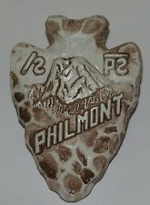 Philmont Scout Ranch CS3d Ceramic Tooth of Time Arrowhead Neckerchief Slide  BSA