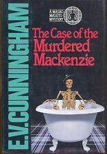 The Case of the Murdered MacKenzie by Howard Fast as E.V. Cunningham-1st Ed./DJ