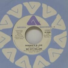 """BAY CITY ROLLERS 'SHANGHAI'D IN LOVE' CANADIAN IMPORT 7"""" SINGLE"""