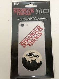 Stranger Things Welcome To Hawkins Phone Laptop Sticker Decal Official SandyLion