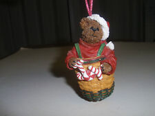 "Boyd'S Bears, Longaberger Exclusive ""2003 Santa'S Helper"" Ornament, Pre-Owned"