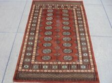 New 4' x 6' Bokhara Area Rugs Perfect Condition Sof t Wool Handmade Rug