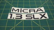 Nissan Micra 1.3 Slx LX Réparation Remplacement Autocollant Décalque Graphique