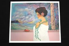 DIANA HANSEN-YOUNG 1993 PRINT 26 X 31.5, 1993 print poster, new code: DHYSS26X31
