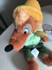 RETIRED The Disneyland/world Mini Bean Bag Brer Fox Beanie Plush Toy NWT