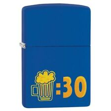 Zippo 29869, Beer:30 Design, Royal Blue Matte Finish Lighter