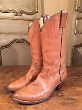 Vintage Justin Cowboys Western Boots Billy Martins Mens Size 9 D