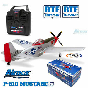 Airnox #UMS P-51D Mustang RTF 4ch mit 3AXG Gyro AN10300 Ready-To-Fly