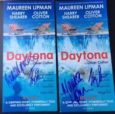 MAUREEN LIPMAN & HARRY SHEARER SIGNED DAYTONA THEATRE FLYER THE SIMPSONS