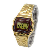 -Casio A159WGEA-5D Digital Watch Brand New & 100% Authentic
