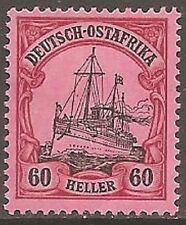 Mint Hinged German East African Stamps