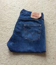 Para Hombre Levis 501 Xx Regular Fit Straight Leg Jeans Denim Azul Índigo W 36 L 30