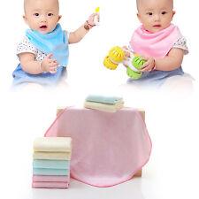 6pcs Soft Baby Cotton Face Bath Washcloth Washer Wipes Bid Bath Shower Towel Pop